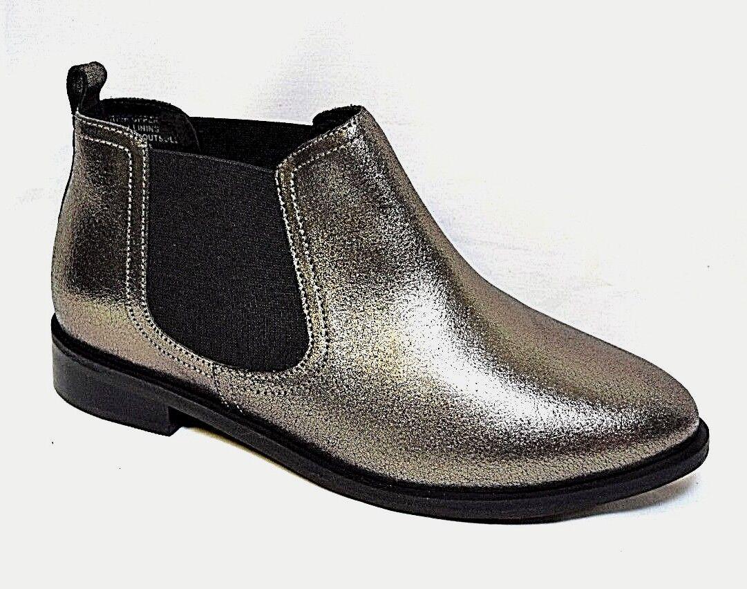 TS shoes TAKING SHAPE sz 39 / 8 Roxy Metallic Ankle Boots wide fit NIB rrp$190!