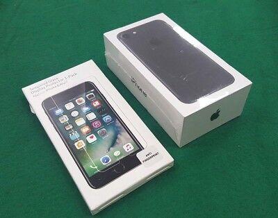 Inbox New Apple Iphone 7   32Gb  Black  Gsm Global Unlocked   Oem Extras