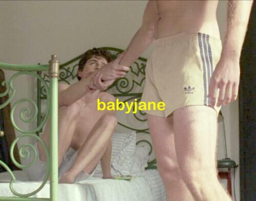 058 TIMOTHY CHALAMET ARMIE HAMMER CALL ME BY YOUR NAME BARECHESTED PHOTO