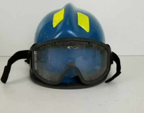 Cairns 360R Firefighter Helmet w/ Goggles Low Profile Rescue..