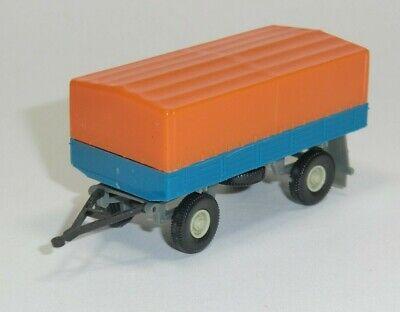 DDR Modell - Anhänger Pritsche/Plane, 2-achsig, 1:87, ohne VP -- N085/A4 gebraucht kaufen  Alfstedt
