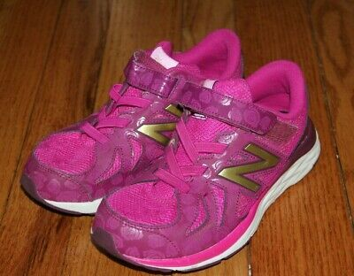 Girl's NEW BALANCE DISNEY Princess Belle ROSE Running Athletic Shoes 3