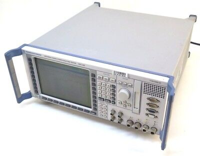 Rohde Schwarz Cmu200 Universal Radio Communication Tester Fails Self-test