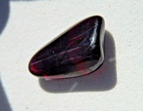Idaho Garnet specimen Emerald Creek  Old Stock Tumbled 1.51 g