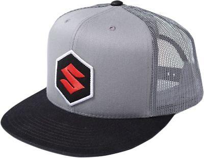 NEW FACTORY EFFEX SUZUKI MARK TRUCKER SNAPBACK HAT CAP LID SNAP BACK ADJUSTABLE