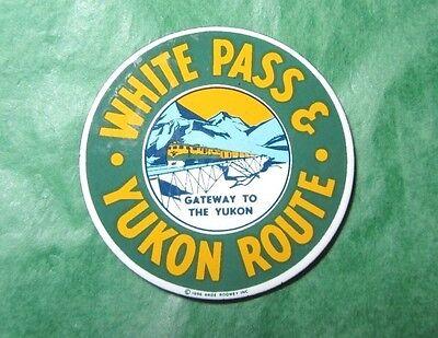 WHITE PASS YUKON ROUTE ALASKA GATEWAY TO THE YUKON SOUVENIR TRAIN MAGNET (98)