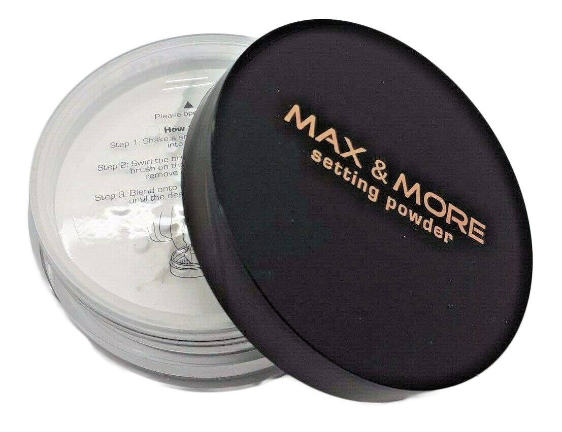 Max & More Translucent Loose Makeup Setting Fixing Face Powder - 6g