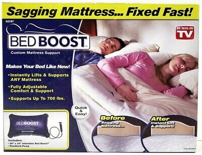 Inflatable Bed Boost Air Cushion Support Fast Fix for a Sagging Mattress Lifter