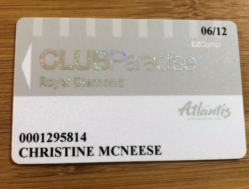 2012 Atlantis Reno Club Paradise Royal Diamond EZComp Grey White Slot Players
