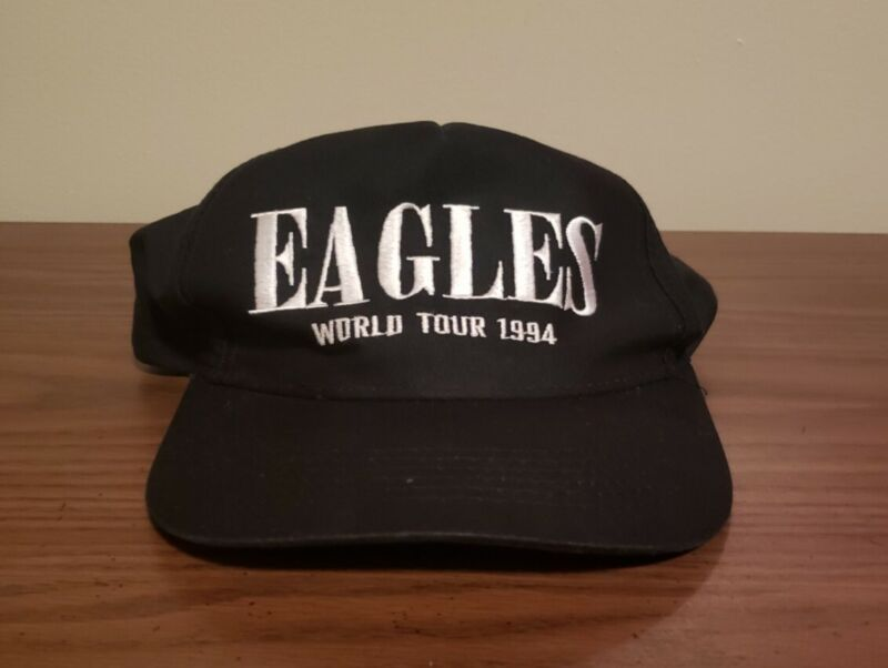 Rare Eagles World Tour 1994 Hell Freezes Over Snapback Hat