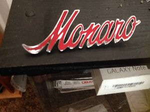 Holden hq Monaro guard badge Salisbury East Salisbury Area Preview