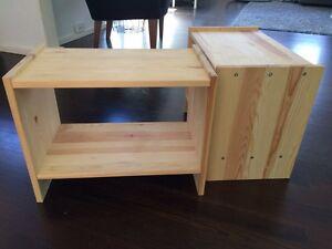 IKEA 'Rast' bedside tables Birchgrove Leichhardt Area Preview
