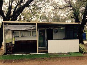 Semi permanent on site caravan Malaga Swan Area Preview