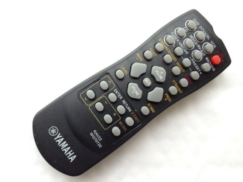 Yamaha remote control codes rav331 manual