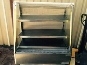 Stainless steel open fridge with curtain South Coogee Eastern Suburbs Preview