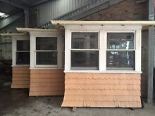 Leadlight Bay Windows with pew style built in chairs Ashfield Ashfield Area Preview