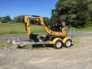 Mini Excavator For Dry Hire Burleigh Waters Gold Coast South Preview