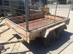 8 x 5 HEAVY DUTY Tandem Trailer with Cage Gosnells Gosnells Area Preview