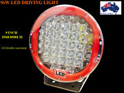 Pair 9 INCH 96W Cree Led Driving Spot Work Light 4WD Offroad Camp Craigieburn Hume Area Preview