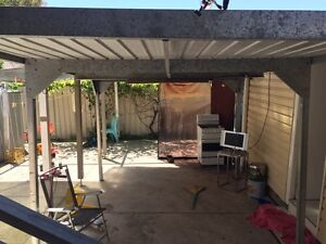 Carport shelter 10x8 Chester Hill Bankstown Area Preview