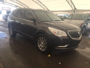 2014 Buick Enclave Leather AWD, LEATHER, HTD SEATS, 2 PANEL S...