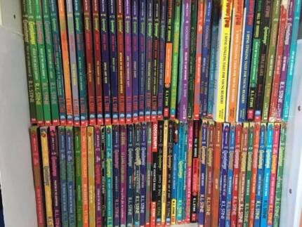VARIOUS ORIGINAL GOOSEBUMPS BOOKS - RARE