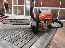 STIHL ms170 chainsaw Hornsby Hornsby Area Preview
