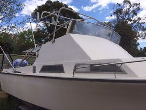 21ft Half Cabin Boat High Wycombe Kalamunda Area Preview