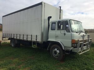 1989 Hino FF 12 Pallet Tautliner Angle Vale Playford Area Preview