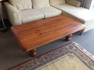 Oak wood coffee table Lindfield Ku-ring-gai Area Preview