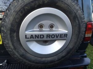 Land Rover Discovery 1 spare wheel cover Warners Bay Lake Macquarie Area Preview