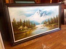 Large oil painting Sandy Bay Hobart City Preview