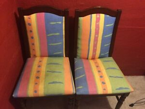 Pair of vintage chairs Charlestown Lake Macquarie Area Preview