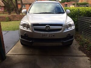 Holden Captiva LX 2007 Westmead Parramatta Area Preview