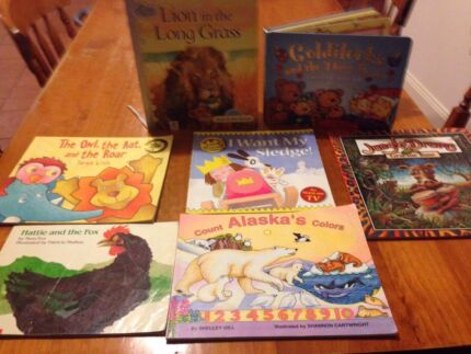 7 children's books