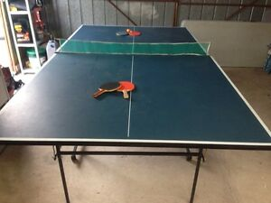 Table tennis set ready to use. Gladstone Park Hume Area Preview
