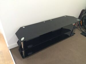 Glass TV unit Meadowbank Ryde Area Preview
