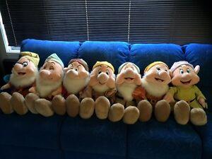 Disney Life Sized (85cm) 7 Dwarf Set Werrington Penrith Area Preview