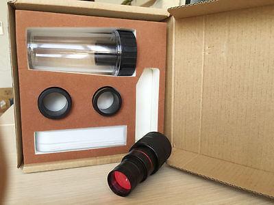 Microscope 5.0mp Hd Usb Digital Eyepiece Camera Adapter Fit 23.2mm 30mm W Slide