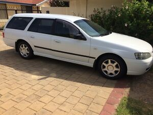 Clean & tidy LPG Ford Falcon Wagon 2003, 126000 km Cannington Canning Area Preview
