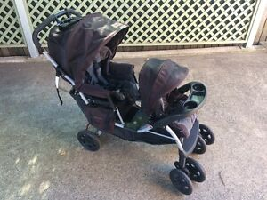 $75 Inline tandem pram - hardly used - NEED GONE ASAP Dapto Wollongong Area Preview