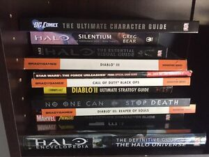 Bulk Lot of strategy guides for gamers Narara Gosford Area Preview