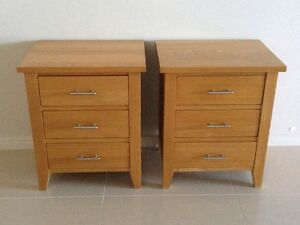 Bedside tables solid wood Oxenford Gold Coast North Preview