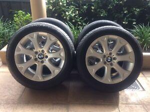 "19"" GENUINE BMW X5-SERIES *SNOWFLAKE* E53 E70 WHEELS & 60% - VW Kew Boroondara Area Preview"