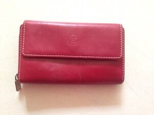 Genuine leather made in Italy  red purse Secret Harbour Rockingham Area Preview