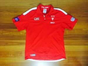 Sydney Swans Players Player Issue AFL Australia Rules Football Polo Carlton Kogarah Area Preview