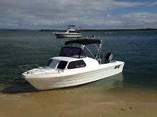 19 foot Savage Half Cabin Fishing Water Ski boat Thornlands Redland Area Preview