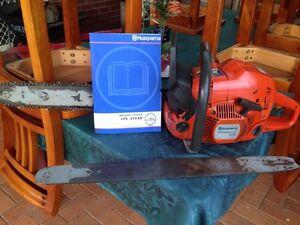 Husqvarna 570 X-Torq chainsaw (2008) Traralgon Latrobe Valley Preview