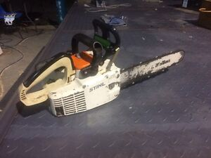 Stihl 009 overhander top handle chainsaw Walloon Ipswich City Preview