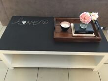 Upcycled chalkboard coffee table Elderslie Camden Area Preview